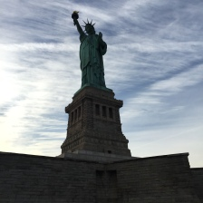 Touring the Statue of Liberty