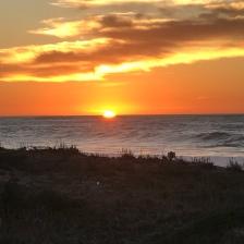Sunset in PG